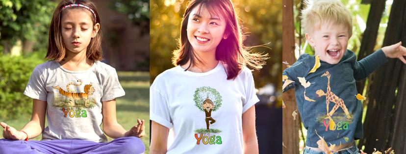 Kinderyoga Shirts